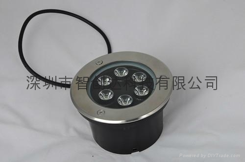 9W 戶外用不鏽鋼埋地燈 3
