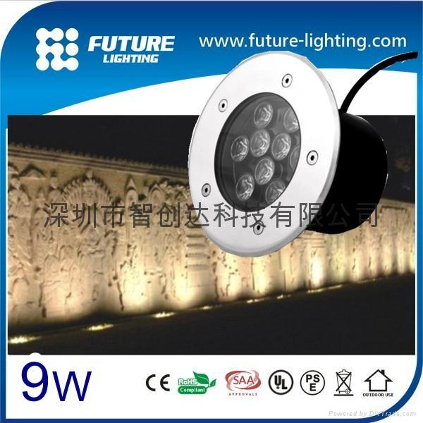 9W 戶外用不鏽鋼埋地燈 2