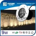 9W 戶外用不鏽鋼埋地燈