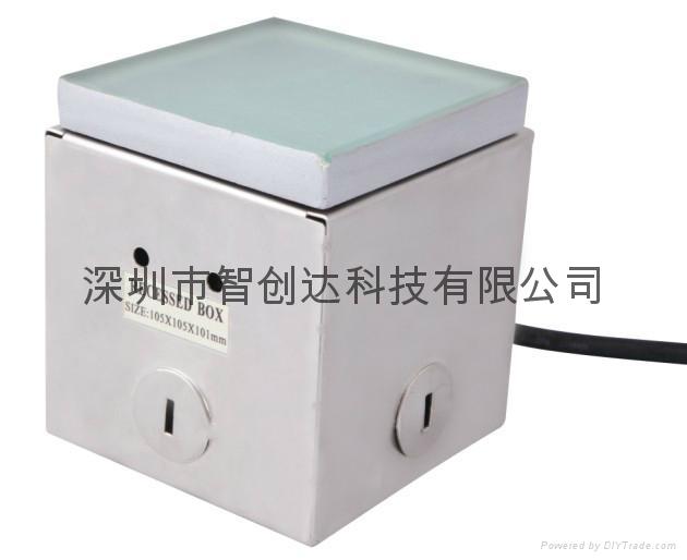 7.8W RGB 鋼化玻璃 地磚燈 4