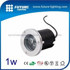 1W led 埋地燈