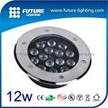 12W shenzhen quality led inground light