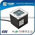 4W RGB  led  ingroud light
