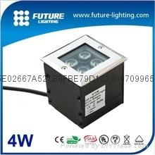 4W RGB  led  ingroud light
