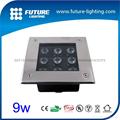 9W approval led inground light