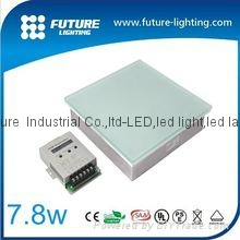 7.8W RGB 鋼化玻璃 地磚燈 2