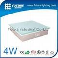 4W RGB led  brick light tough glass led