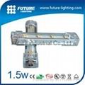 100CM  白色  SMD 5050 LED 鋁燈條 1