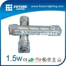 100CM  白色  SMD 5050 LED 鋁燈條