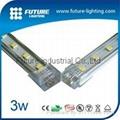 20cm Single color A-slot SMD LED strip