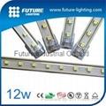 1M 48 LEDs RGB waterproof aluminum strip
