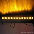 12W rgb LED wall washer light