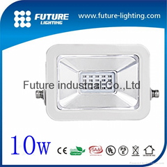 10w new shape good quality led floodlight slim body