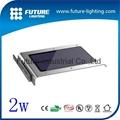 2w saving energy  led solar panel light