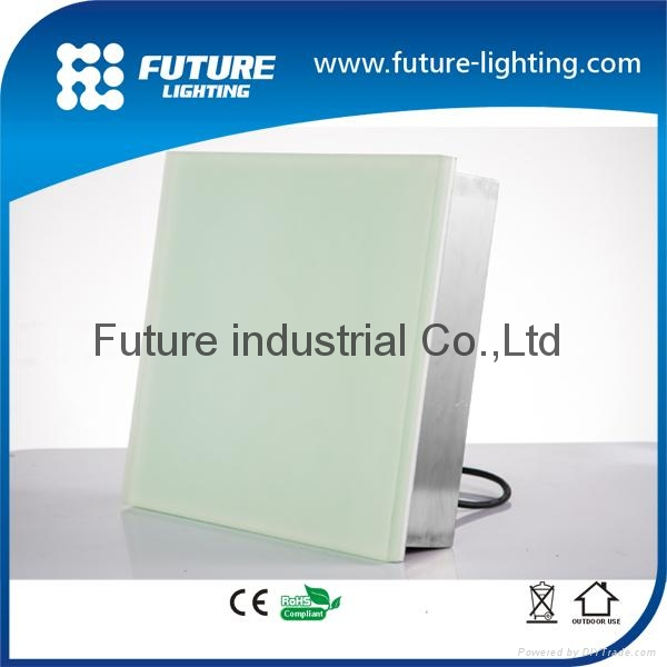 Toughened glass led paver light led floor lights led brick led tile 2