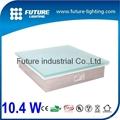 Outdoor IP67 light up paving glass paving 7.8w led floor tile 30x30 led brick
