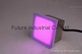 Shenzhen frosty glass shelf waterproof IP67 rgb color 200x200mm led brick light