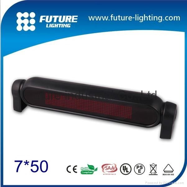 future lighting indoor 750dots mini programmable led moving sign display china