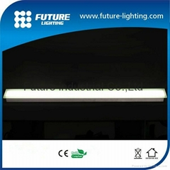 Outdoor IP67 glass cover waterproof 1000*90 10w garden strip bar led brick light