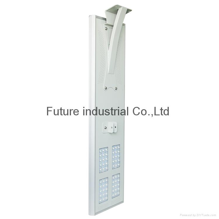 防水的60W 太陽能路燈 5