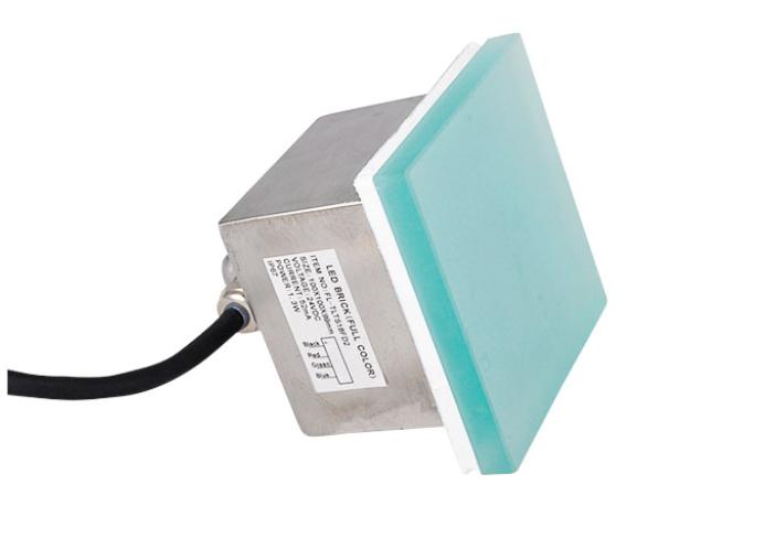 High Efficiency 12V 24V RGB Outdoor IP67 Waterproof LED Floor Tile Light 1