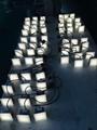 High Efficiency 12V 24V RGB Outdoor IP67 Waterproof LED Floor Tile Light