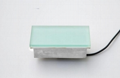 Outdoor landscape garden light 200x100mm up floor led tile light