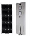 60W ModelD Newly design Integrated Solar LED Street Light