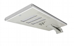 Waterproof auto-sensing with motion sensor 60w integrated solar led street lamp