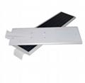 Waterproof auto-sensing with motion sensor 60w integrated solar led street lamp 2
