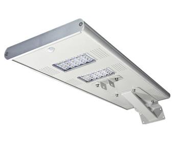 Waterproof auto-sensing with motion sensor 60w integrated solar led street lamp 3