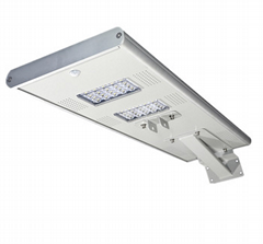 Shenzhen led solar light outdoor integrated with pir sensor solar led street
