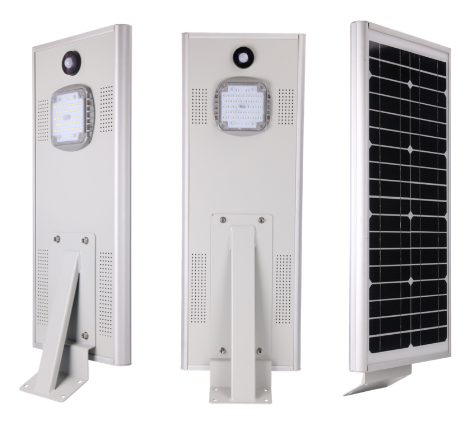Shenzhen led solar light outdoor integrated with pir sensor solar led street lig 2