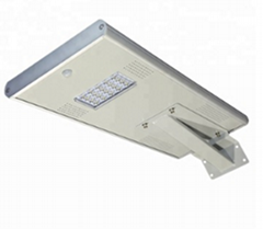 Outdoor IEC Sun power all in one 15W solar led street light
