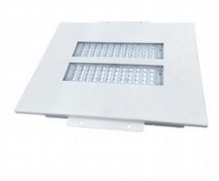 Shenzhen manufacturers waterproof 150w recessed floodlight 3 module gas station