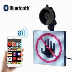 Shenzhen Bluetooth app car rear window Emoji Smiley LED car display (Hot Product - 1*)