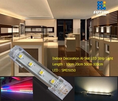 Shenzhen led Indoor with connector led strip bar 100cm 50cm led light strip