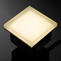 IP67 garden light glass tile led paver light