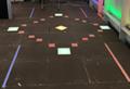 300X300 RGB color changing led floor tile light outdoor LED lighting  5