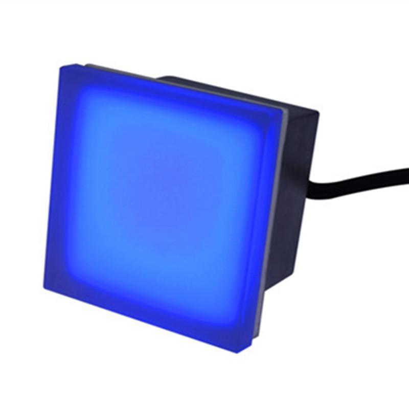 Outdoor led tile light Stainless Body Toughened Glass Brick light