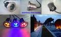 IP67 led underground light 3w 304s/s outdoor led inground light
