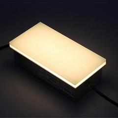 12V 24V RGB changing color warm white brick lights led tile paver light