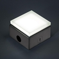 Outdoor IP67 brick light glass cover 304#ss stand IP67 100X100mm led brick light