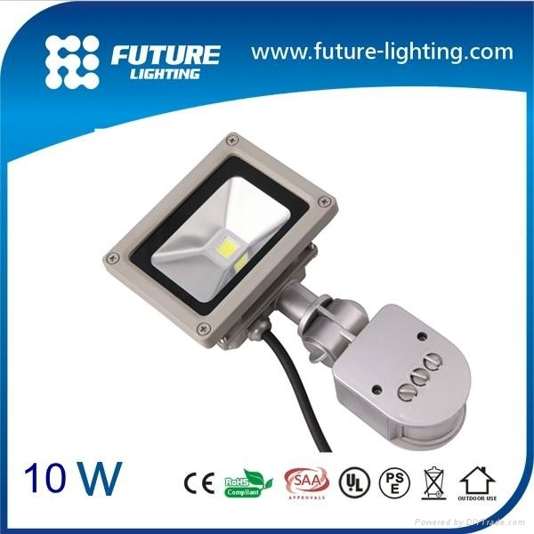 10W sensor led floodlight