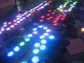 DMX 12W RGB led underwater