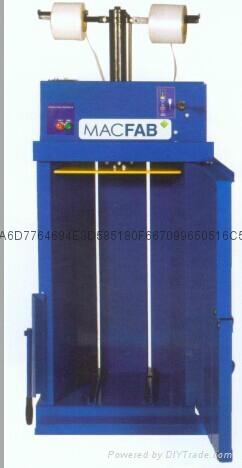 MACFAB-40直立式壓縮打包機 1