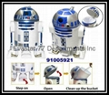 D2-R2 Creative Robot Shape Trash Can Rubbish Bin