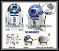 D2-R2 Creative Robot Shape Trash Can Rubbish Bin