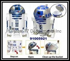D2-R2 機器人垃圾桶
