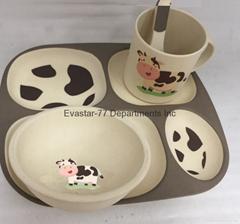 5 PCS 儿童餐具组